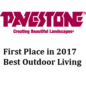 Pavestone First Place in 2017 Best Outdoor Living